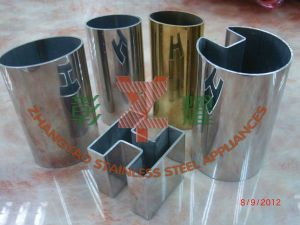 Railing with 304, 316 Stainless Steel Half Round Tube pictures & photos