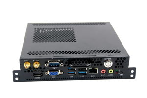6 Serial Ports Dual LAN Ports OPS Mini PC with Celeron Dual Core 1.7GHz Multiple Serial Ports POS Mini PC pictures & photos