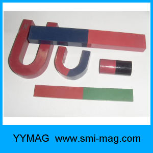 Red-Green Spray-Painted Teaching AlNiCo Magnet Bar pictures & photos