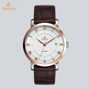 High Level Fashion Quartz Business Stainless Steel Men′s Wrist Watch72809 pictures & photos