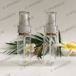 Pet Bottle with Plastic Lotion Pump for Cosmetics Packaging (PPC-PB-079) pictures & photos