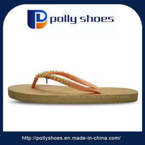 2017 Ladies Sandal Bulk Rubber Slipper Flip Flop pictures & photos