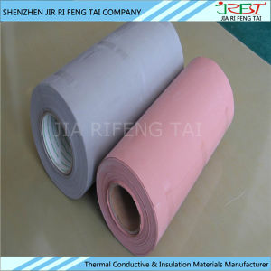 0.23mm Thickness High Voltage Insulation Thermal Conductive Silicone Cloth pictures & photos