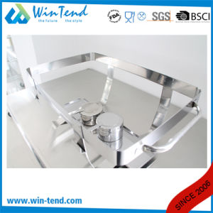 Hot Sale Electrolytic Stainless Steel Economic Buffet 633 Chafing Dish with Fuel Holder pictures & photos