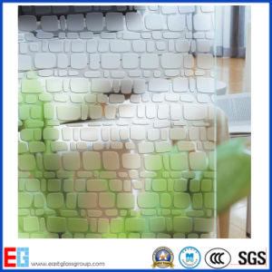 3mm 4mm 5mm 6mm 8mm 10mm 12mm Acid Etched Pattern Glass pictures & photos