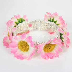 Flower Fashion Bangle Jewelry for Women pictures & photos