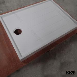 Square Anti-Slipping Solid Surface Bathroom Shower Tray (SB170727) pictures & photos