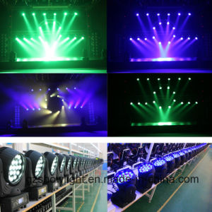 Osram19*12W 4-in-1 RGBW LED Moving Head Beam Light DJ Lighting pictures & photos