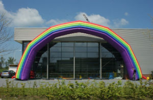 Commercial Inflatable Rainbow Arch for Sale