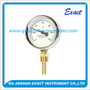 Bimetal Thermometer Bottom Entry with Brass Pocket pictures & photos