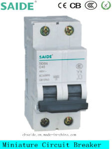 Sdb65-63 Miniature Circuit Breaker MCB pictures & photos