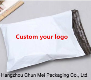Custom Express White Poly Bag with Logo Printed pictures & photos