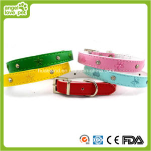 PU Pet Collar Buckle Collar pictures & photos