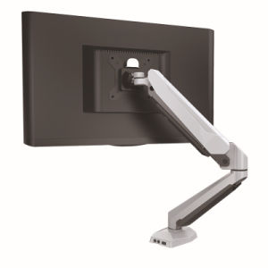75*75mm 100*100mm LCD Monitor Stand Rotation Lifting Bracket with USB Audio pictures & photos
