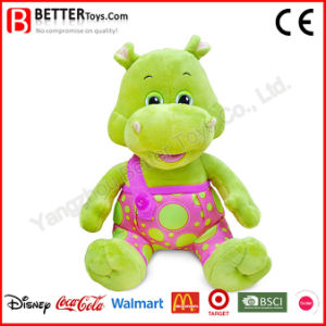 Super Soft Stuffed Animals Hippo Plush Toy for Baby Kids pictures & photos