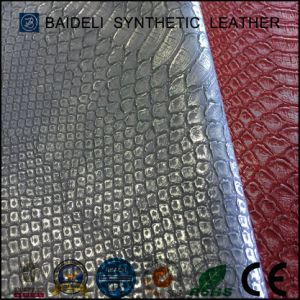 Metallic PVC/PU Fake Leather for Bags/Case/Suitcase/Handbag/Should Bag/Wallet/Purse pictures & photos