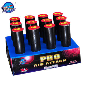 "12 Shots 2"" Inch Pyrotechnic Cake Fireworks pictures & photos"