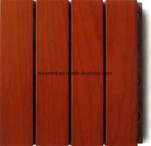 14/2 Grooved Acoustic Panel Veneer Finish pictures & photos