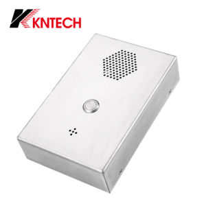 Intercom SIP Phone, PSTN Phone, Industrial Public Emergency Telephone Knzd-36 Kntech pictures & photos