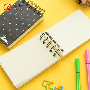 Blank Page Spiral Notebook pictures & photos