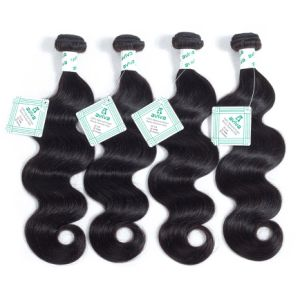 Peruvian Virgin Hair Weave Body Wave Hair Extension 1PC/Lot 100% Unprocessed Human Hair Bundles 100g Hair Weft pictures & photos