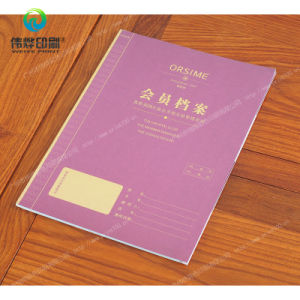Offset Printing Book / Brochure for Club Member Massages pictures & photos
