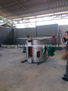 Special Induction Melting Machine for Stainless Steel Melting (GW-750KG) pictures & photos