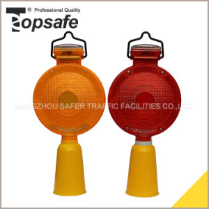 6LED Solar Road Construction Warning Light (S-1359B) pictures & photos