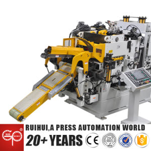 High Quality Double Head Decoiler Straightener (MAC4-800HSL) pictures & photos