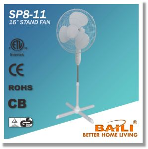 "Popular 16"" Oscillating Cooling Stand Fan with Cross Base pictures & photos"