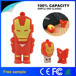 Real Capacity Avengers Iron Man USB 2.0 Memory Stick