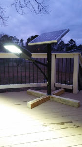 100% Brightness High Performance Easy Installation ALL IN TWO 20W Solar Street Light pictures & photos