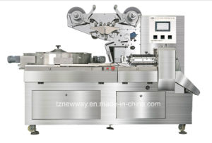 Automatic Food Packaging Machine for Biscuit Cake Cookies Chocolate Bar (JY-ZB1200)