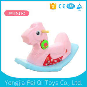Unique Daycare Chrisha Playful Plush Rocking Horse for Kids pictures & photos