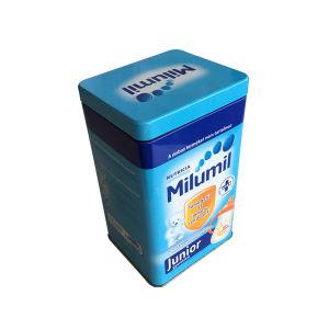 Milk Powder Metal Tin Container Wholesale Milk Container Tolling Existing pictures & photos
