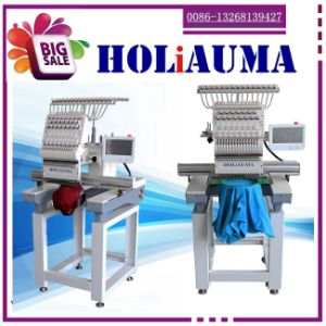 Tajima Type 1 One Single Head Conputerized Embroidered Machine with Best Quality for Hat/Towel/T-Shirt Embroidery Cheap Price pictures & photos