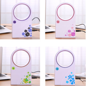 Portable No Leaf Air-Condition Table Fan, Mini USB Bladeless Fan pictures & photos