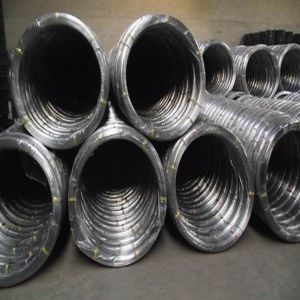 Galvanized Oval Wire for 2.4 X3.0 and 17X15, Galvanized Steel Wire pictures & photos