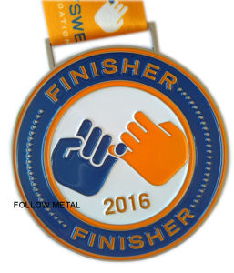 Award Medal for Finisher, Soft Enamel, Printing Lanyard pictures & photos