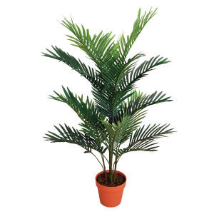 Artificial Mini Palm with Plastic Pot pictures & photos
