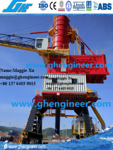 200tph Bulk Fly Ash Unloading Machine Pipeline pneumatic Ship Unloader pictures & photos