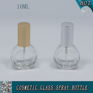 Empty 10ml Spray Pump Glass Perfume Bottle with Pump Sprayer pictures & photos