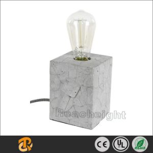 Good quality Modern Simple Small Decorative Concrete Table Lamp pictures & photos