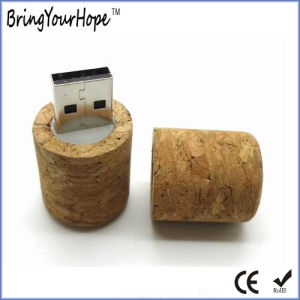 Wine Cork Design Flash Memory Stick (XH-USB-035) pictures & photos