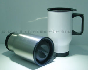 OEM Double Wall Stainless Steel Mug with Cover Cap pictures & photos