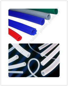 FDA Silicone Extrusion Tube Customized pictures & photos