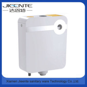 Jet-106A Dual Flush Custom Sticker Plastic High Level Cistern Toilet pictures & photos