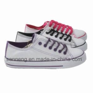 Basic Style Canvas Shoes for Women Men (SNC-240018) pictures & photos