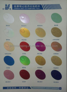 Wholesale Pearl Hot Stamping Foil for Paper or Plastic pictures & photos