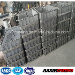 Lost Wax Casting HK40 HP40 Heat Treatment Furnace Basket pictures & photos